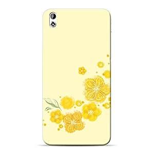 Mobile Back Cover For HTC Desire 816 (Printed Designer Case)