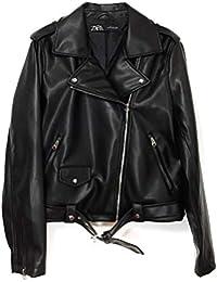 0f03c2d256d Zara Femme Veste en Cuir synthétique 3046 043