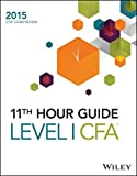 Wiley 11th Hour Guide for 2015 Level I CFA Exam