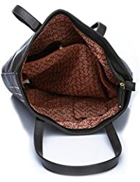 Caprese  Women Tote Bag (Dark Grey)(TENOVMDRDGY)