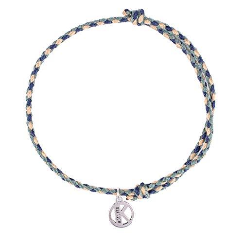 KELITCH Damen Armbänder Frauen Handgemachte Baumwolle String Geflochtene Strang Freundschaft Charme Armband für Pärchen Herren - D