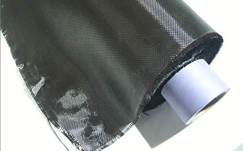 ZJ SPORT Carbon Faser Gewebe 3K 200g Plain Weave 99CM × 110CM Carbon Garn Weave Tuch -