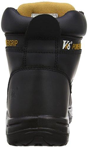 V12 Bison, Scarpe di Sicurezza Unisex – Adulto Nero (Black)