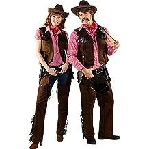 ff55b0d12e42de Cowboy Weste mit Fransen - Braun - Zubehör Wilder Westen Party Kostüm