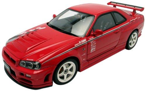 AUTOart - 77357 - Véhicule Miniature - Modèle À L'échelle - Nissan Skyline GTR R34 Nismo - Z Tune R - Echelle 1/18
