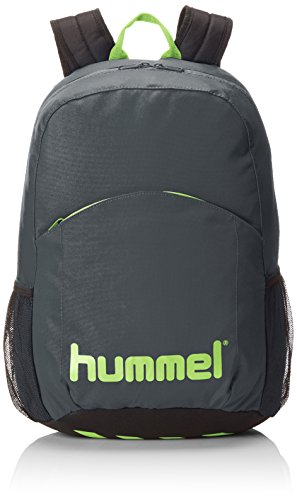Hummel Unisex Rucksack Authentic, dark slate/green flash, 44 x 19 x 30 cm, 25 liters, 40-960-1616 (Authentic Rucksack)