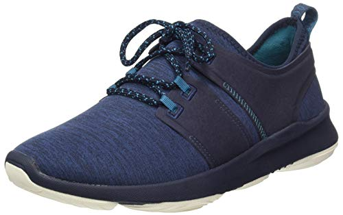 Hush Puppies Herren Geo Sneaker, Blau (Blue Heather) Navy Heathered, 43 EU -