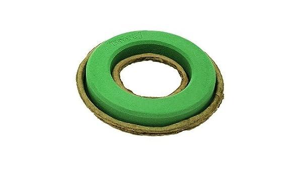 DN-Dekor 008-0002-013 Ring 40 cm Kranz Steckschaum Steckmasse Pflanzring Durchm