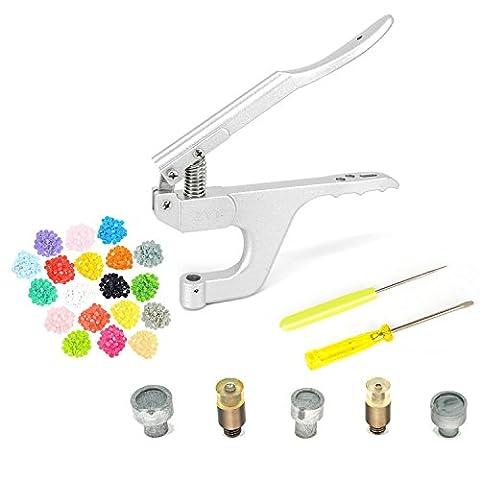 Kam Pince à l'aide de boutons-pression avec boutons pression T3T5Boutons pression Attaches de fixation Outil de découpe par Trimming Shop