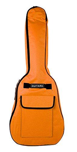 Voller Größe Gitarre orange Tiger gepolsterten Fall