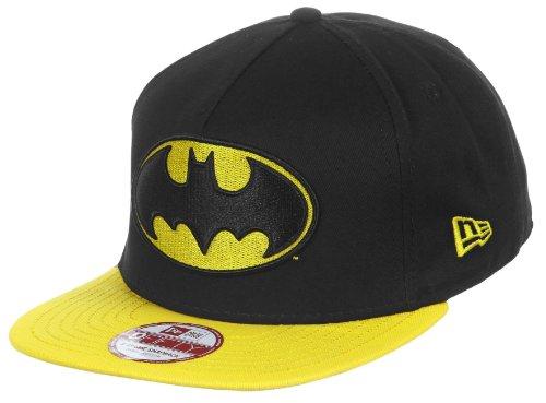 New Era 9Fifty Character Basic Batman Cap - Black/Yellow