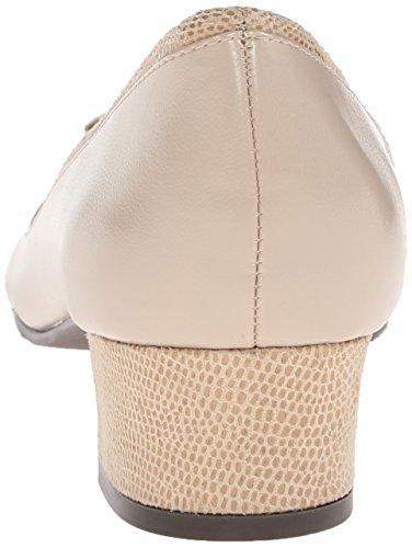 Stile Soft di Hush Puppies pompa Santel Dress Light Taupe Elegance Polyurethane/Light Taupe