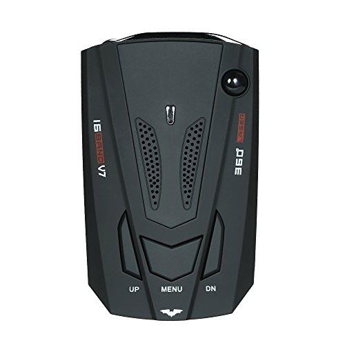 KKmoon Auto Radarwarner 360 Grad 16 Band LED Display Anti Polizei Radarwarner Geschwindigkeit Akustischer alarm Warnung Russland / Englisch Version