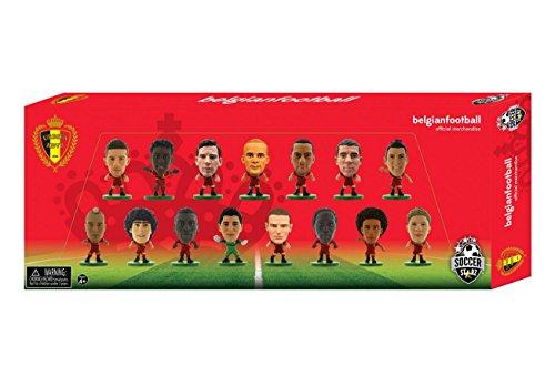 SoccerStarz 402937 Belgium 2016 Edition V1 15 Player Team Pack