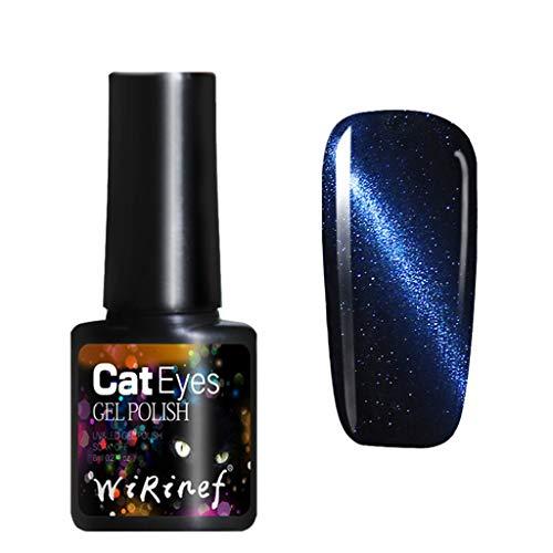 Nagellack, glänzender Nagellack und Katzenauge-Nagellack glänzen im Dunkeln, Elegant und charmant, passend für Ihren edlen Charme Watopi