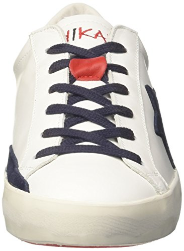 ISHIKAWA Unisex-Erwachsene 1201 Low-Top Bianco