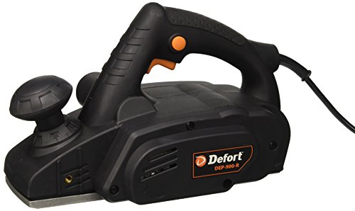 Defort DEP-900-R Elektrohobel 900 W, Falzfunktion, Spanauswurfsystem