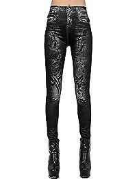 Z Jegging Noir Des Femmes Etirer Pantalon Leggings De Guetres De Jeans  Crayon Collants 24c70c6f916