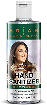 Arias Hand Sanitizer 500 ML Aloe