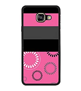Fuson Rangoli Pink Girls Design Designer Back Case Cover for Samsung Galaxy A7 (6) 2016 :: Samsung Galaxy A7 2016 Duos :: Samsung Galaxy A7 2016 A710F A710M A710Fd A7100 A710Y :: Samsung Galaxy A7 A710 2016 Edition (Ethnic Pattern Patterns Floral Decorative Abstact Love Lovely Beauty)