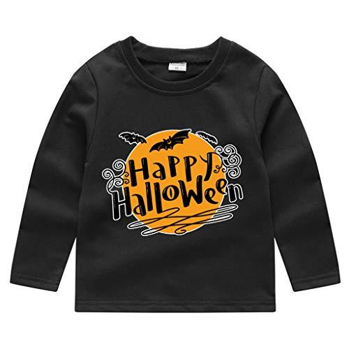 Oyedens (18M-5Y) Kleinkind Baby Kinder Jungen Mädchen Halloween Print Sweatshirt Pullover Tops T-Shirt (300 Kostüm Für Verkauf)