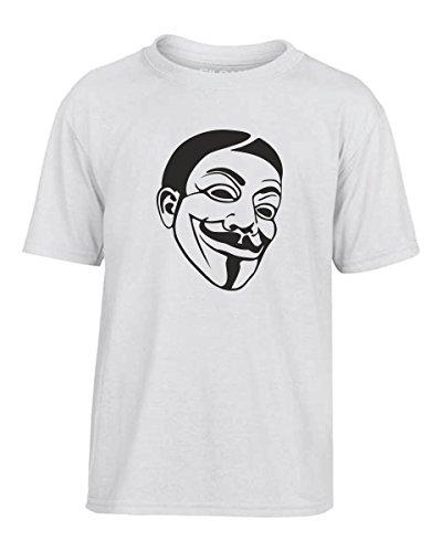 rt Kinder TR0145 V for Vendetta Guy Fawkes Mask Rebel, Größe 9-11jahre (V For Vendetta Jahr)