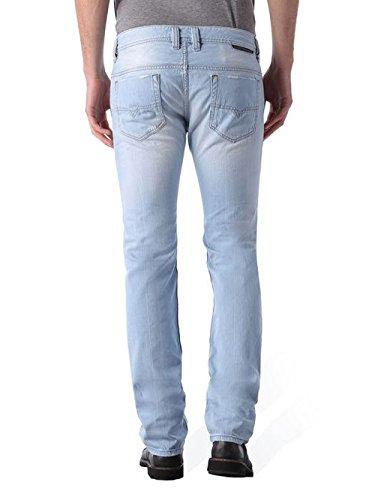 Diesel Safado 0852I Herren Jeans Hose Regular Slim Blau