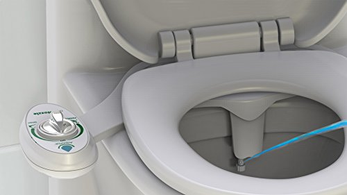 Aquarius His & Hers Dual Düse Retro Easy Fit WC Sitz Bidet Für jedes WC