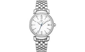 GRANTON Reloj de pulsera mujer COLLECTION IMPERIAL Reloj de pulsera Quartz Suiza analogico acero 36mm plata
