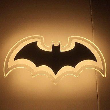 GANTA Modern Acrylic Bat Wall Light Bedside Lamp LED Wall