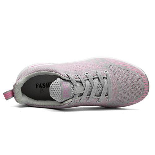 Scarpe sportive Uomo Scarpe da ginnastica Scarpe da tennis Outdoor training Sneakers Fitness Interior Casual allAperto39-44 Grau