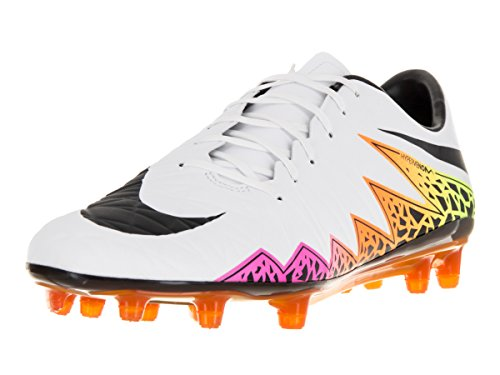 Nike Hypervenom Phatal II FG, Chaussures de Football Homme - BIANCO/NERO
