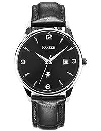 2d475ec97529 Amazon.es  numeros romanos - Negro  Relojes