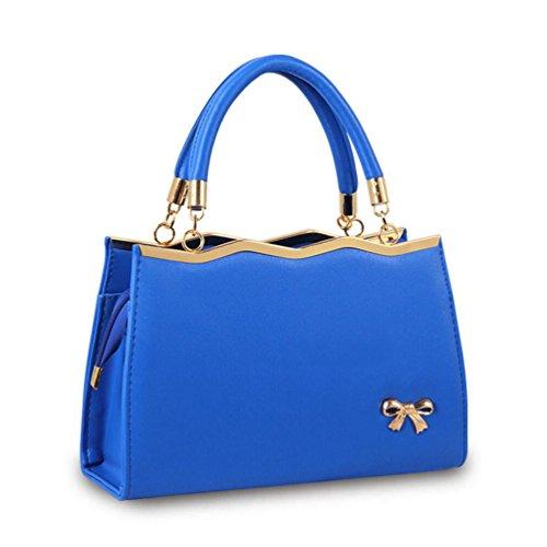 XibeiTrade - Borsa a tracolla Ragazza donna Dark Blue