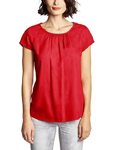 Street One Damen Felia Bluse, Rot (Vivid Red), (Herstellergröße:40)
