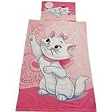 """Textil para el hogar para niños, juego de cama para niños Disney Aristocats """"Marie Baby"""", 100% algodón, OEKO-TEX"""