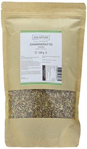 Johanniskraut Tee Bio | Johanniskraut geschnitten | Johanniskrauttee lose | 250 g