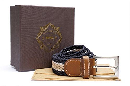 london-goods-company-1984-ceinture-tressee-collection-martell-qualite-superieure-avec-pochette-de-pr