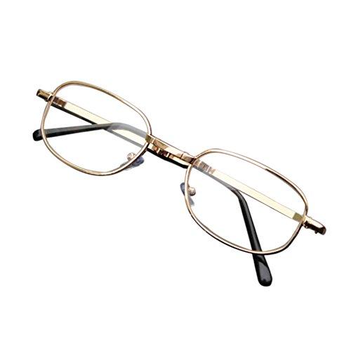 Deylaying Falten Lesebrille Extra Stark Anti-Kratzer Metall Rahmen Lesen Brille Hoch Stärke 4.5 5.0 5.5 6.0