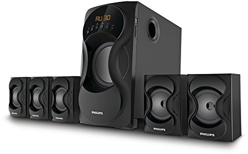 Philips SPA5162B 5.1 Channel Multimedia Speakers
