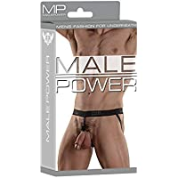 Malepower Ring Jock, Large, Black preiswert