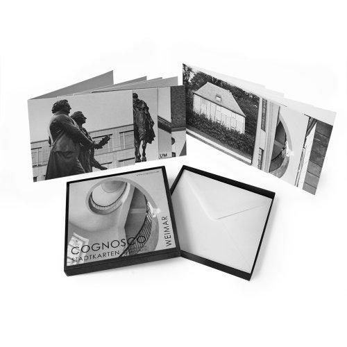 COGNOSCO Klappkarten-Box WEIMAR. Erleben Sie die Stadt aus fotokünstlerischer Perspektive. Ideal...