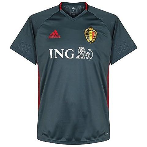 2016-2017 Belgium Adidas Training Jersey (Bold