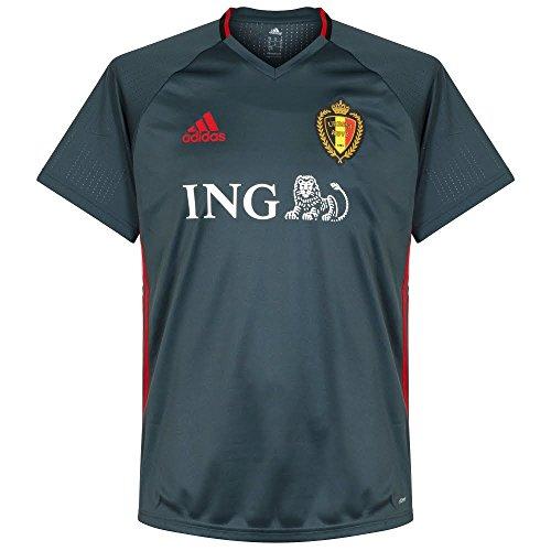 2016-2017 Belgium Adidas Training Jersey (Bold Onix)
