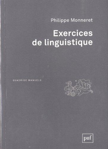 Exercices de linguistique