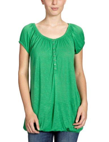 VILA CLOTHES Damen T-Shirt, 40000034 Tim Top Grün (MING GREEN)