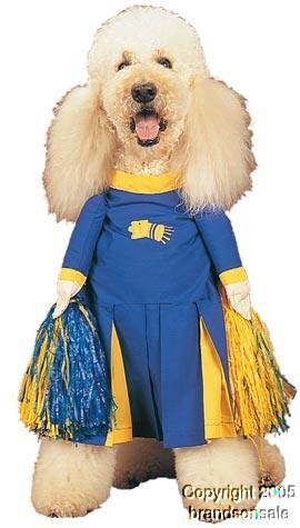 Pet Cheerleader Dog Costume For Medium Dogs by Fitco