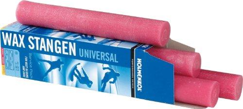 Holmenkol Unisex- Erwachsene Stangenwachs, pink, 4 x 250 g