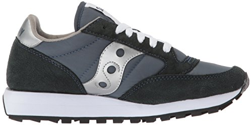 Saucony Jazz Original, Low Athletic Sneakers Blue (azul Marino / Plateado)