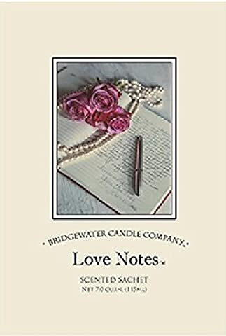 Bridgewater Scented Sachet - Love Notes by Bridgewater